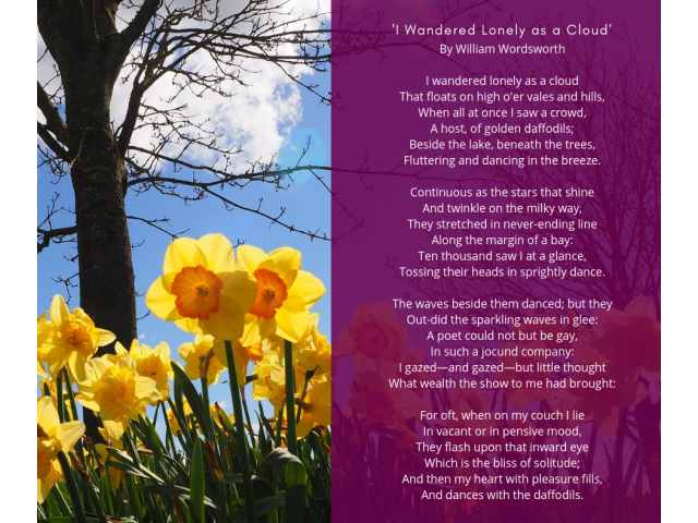 Daffodils_William Wordsworth